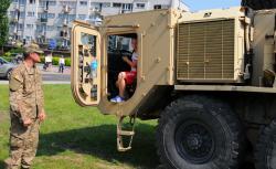 Prezentacja sprz�tu bojowego US Army