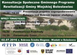 Konsultacje spo�eczne projektu uchwa�y Rady Miasta Boles�awiec
