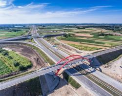 Ostatni odcinek najd�u�szej autostrady wPolsce gotowy