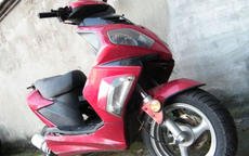 Kradli motorower