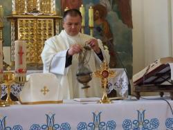 Wprowadzenie relikwii doświątyni wGościsławiu
