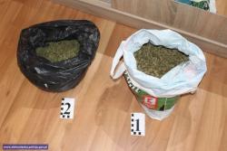 Miał wmieszkaniu ponad 2300 porcji narkotyków