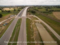 Próby obciążeniowe mostu na dolnośląskim odcinku S5
