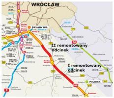 Trwa remont autostrady A4 na Dolnym Śląsku