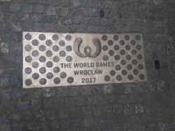 """Tablica The World Games 2017 na """"Ścieżce historii Wrocławia"""""""