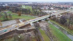 Przez nowy most pojedziemy 14 grudnia