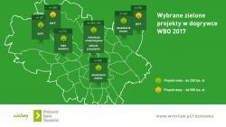Wrocławianie wybrali zielone projekty - dogrywka WBO 2017