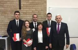 """Uczniowie ILO wprojekcie """"Solidarny Longin Komołowski"""""""