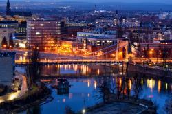 Spektakularny Wrocław z55 metrów nad ziemią