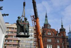 Legnicki pomnik Wdzięczności dla Armii Radzieckiej wkońcu zniknął
