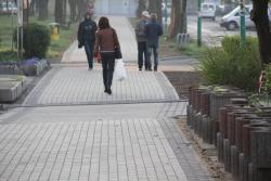 Nowy chodnik przy ul. Górniczej na Koperniku