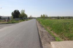 Ulica Pątnowska już znową nawierzchnią ipoboczem