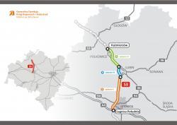 Odcinki dolnośląskiej trasy S3 na finiszu