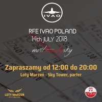 IVAO REAL FLIGHT EVENT wSky Tower