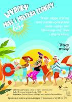 Wybory Miss iMistera Legnicy 65 Plus na plaży Sky Light