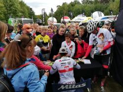 Maja Włoszczowska druga wswoim wyścigu wJeleniej Górze