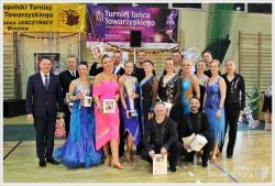 XVI Turniej Tańca Towarzyskiego oPuchar Burmistrza Środy Śląskiej