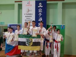 Medalowa sobota średzkich karateków