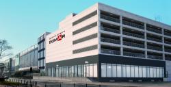 Galeria Wnętrz Domar znowym czteropoziomowym parkingiem