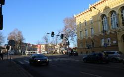 Sygnalizacja na skrzyżowaniu Jaworzyńskiej, Muzealnej iSkarbka