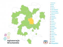 Gmina Długołęka przystąpiła doStowarzyszenia Aglomeracja Wrocławska