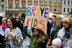 Pierwszy pokaz talentów Brave Kids weWrocławiu