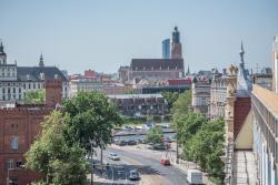 Widok na cztery strony Wrocławia. Luksus jest wmodzie