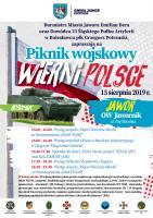 """Piknik Wojskowy """"Wierni Polsce"""""""