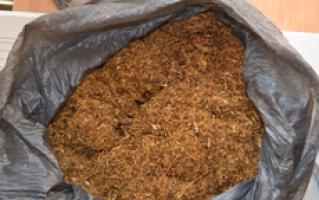 Policjanci przechwycili nielegalny tytoń ipapierosy