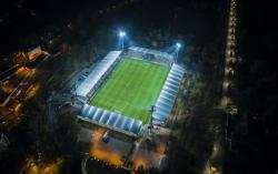 Więcej światła na stadionie miejskim. Już na meczu ze Stomilem Olsztyn