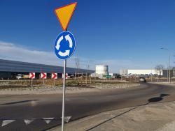Nowy odcinek drogi gminnej zrondem imostem wgminie Żórawina