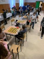 Gwiazdkowe mistrzostwa wsi Stróża wTenisie Stołowym oraz Warcabach