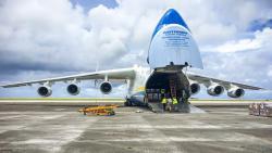 KGHM: największy samolot świata przywiezie 400 ton środków dowalki zkoronawirusem