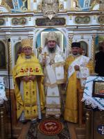 70-lecie Parafii Prawosławnej wMalczycach oraz 35-lecie probostwa ks. mitrata Michała Szlagi