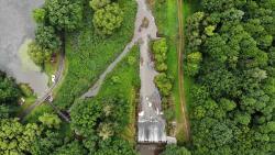 Woda ze Stawów Milickich wspomoże oczyszczanie Baryczy