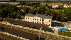 Komisariat Policji na dworcu PKP wMalczycach