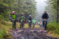 6 Rowerowy Bieg Piastów 26 września wGórach Izerskich - wyścig dla twardzieli