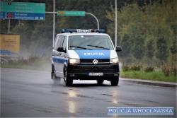 Nietrzeźwy uciekał przed policjantami po Wschodniej Obwodnicy Wrocławia