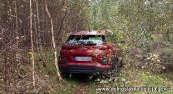 Skradziony na terenie Niemiec Hyundai odnaleziony wBogatyni